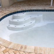 How It Works – The Process of Resurfacing Your Concrete Swimming Pool: Step 4 – Applying The Interior Finish