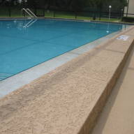 Commercial pool beam