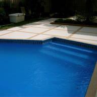 Azure pool finish