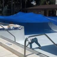 oaks, plastering commercial pool