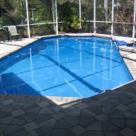 Azure pool finish 2